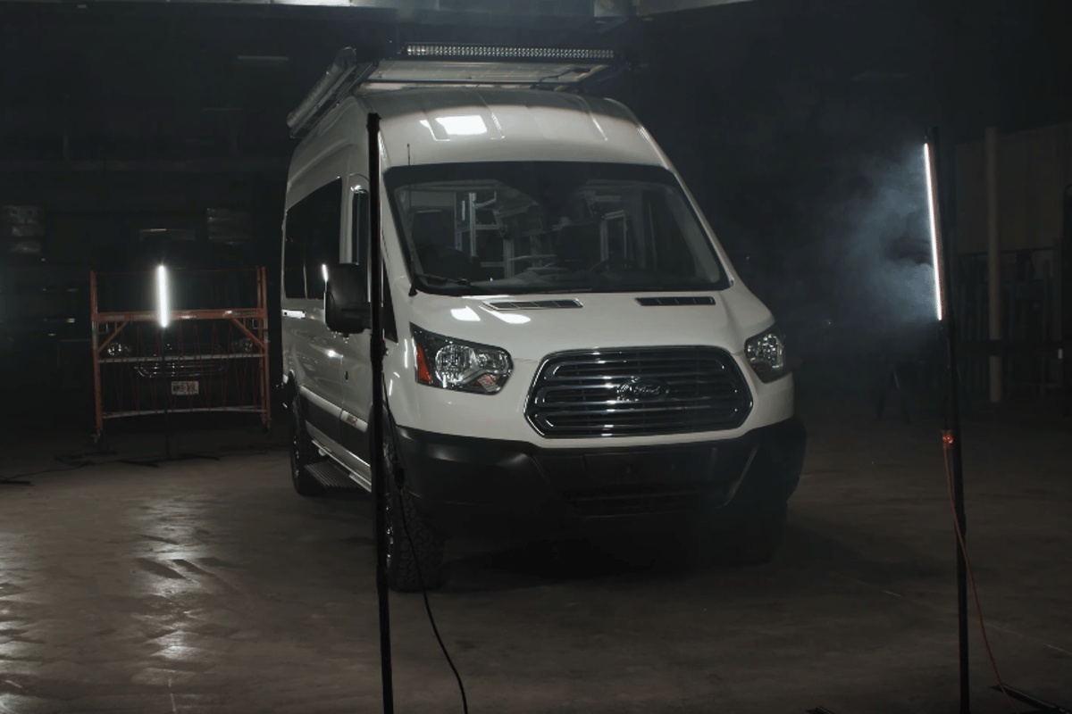 VanDoIt has converted the first new Ford Transit AWD camper van that we've seen