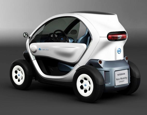 Nissan's New Mobility CONCEPT ultra-compact EV