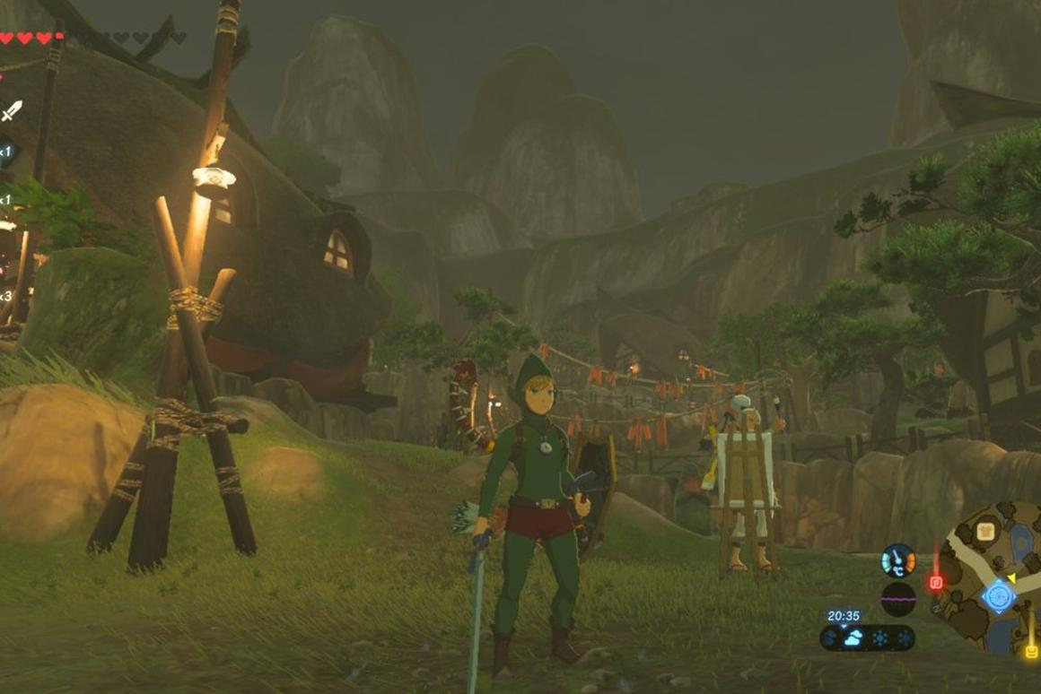 How to find Tingle's outfit in Breath of the Wild