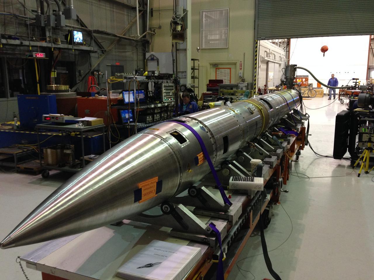 The CHESS Sounding rocket (Photo: NASA/WSMR)