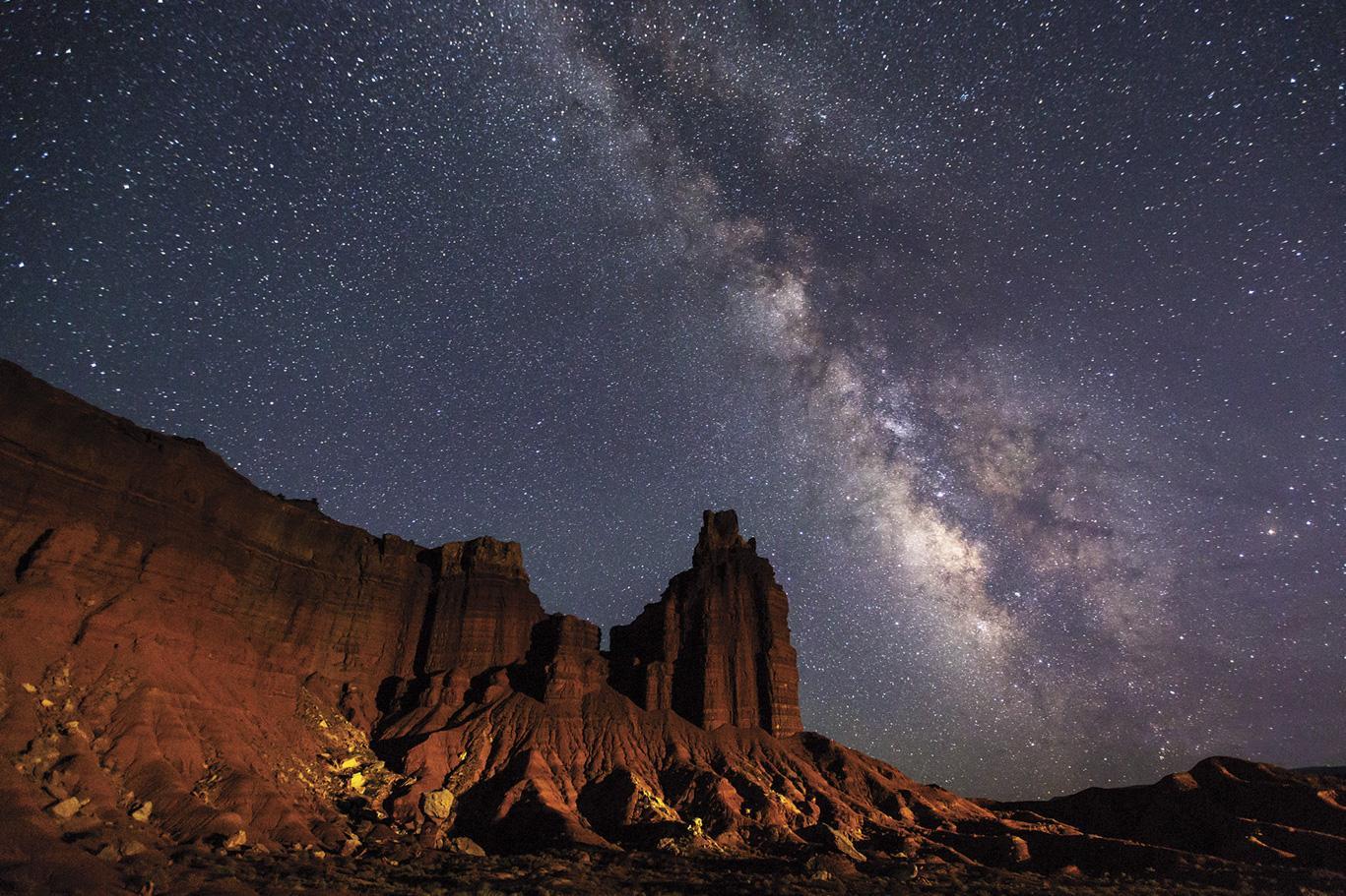 Capitol Reef National Park, Utah, 2015, an International Dark Sky Park