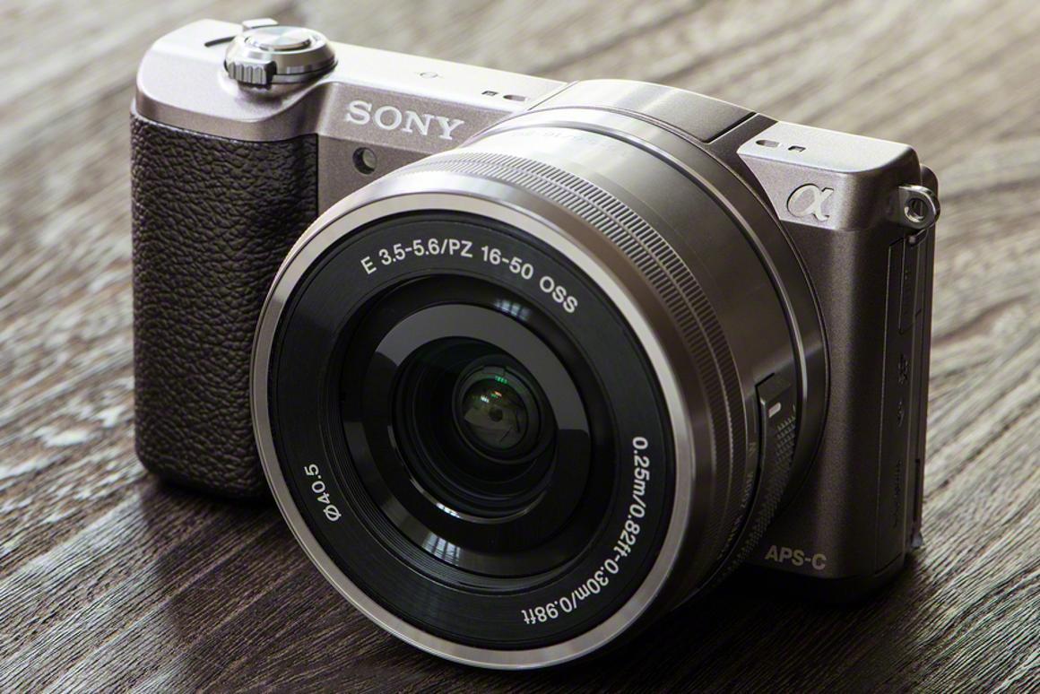 The Sony Alpha A5100 features a 24.3-megapixel APS-C sensor and a super-fast autofocus system