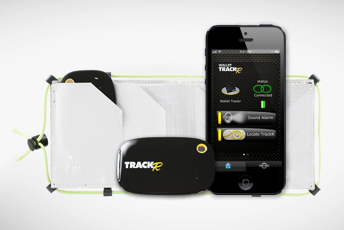 The complete Wallet TrackR Package