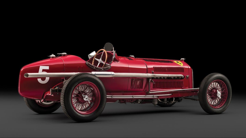 Nuvolari's Scuderia Ferrari Alfa Romeo Tipo B P3  Estimate: €3.8 to €5.0 million (US$4.1 to $5.4 million)  Auction Link