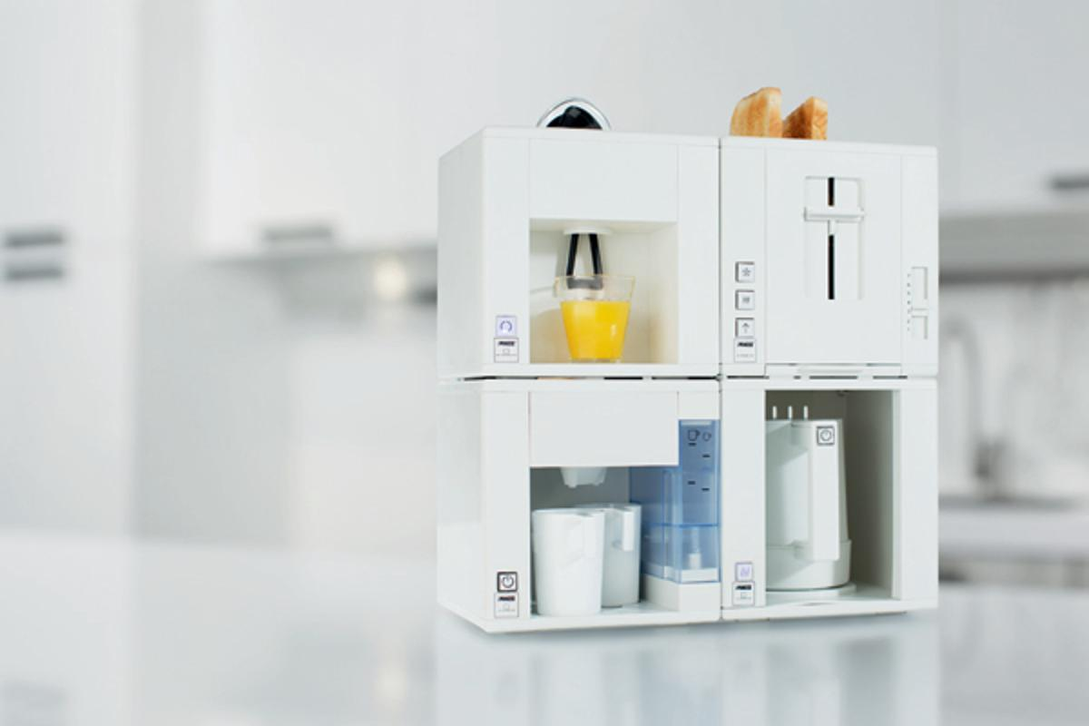 The Compact4All modular kitchen appliance