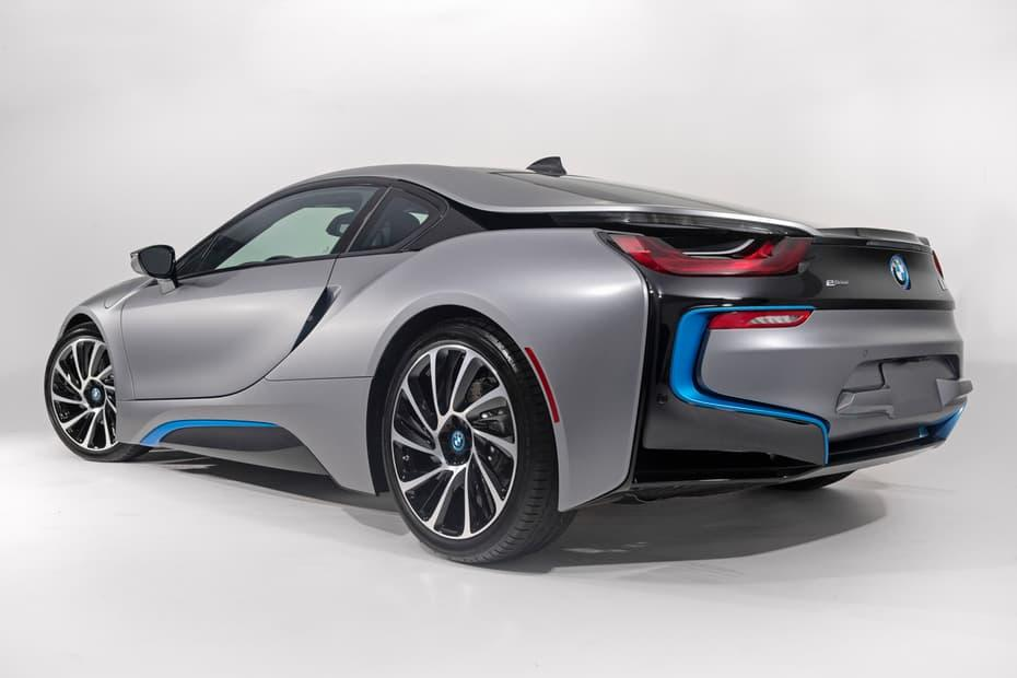 The BMW i8 is powered by a three-cylinder petrol engine and an electric motor