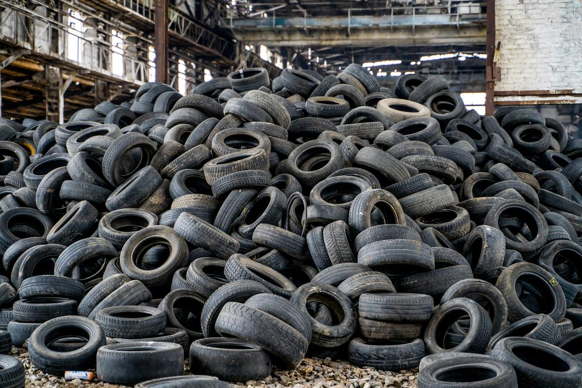 Researchers have found a new way to convert old tires into graphene and then use it to reinforce concrete
