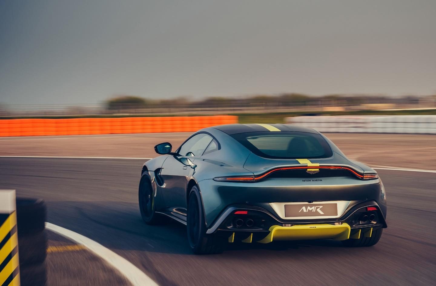 Vantage AMR retains the same 503-horsepower V8 twin turbo motor, but detuned for less torque