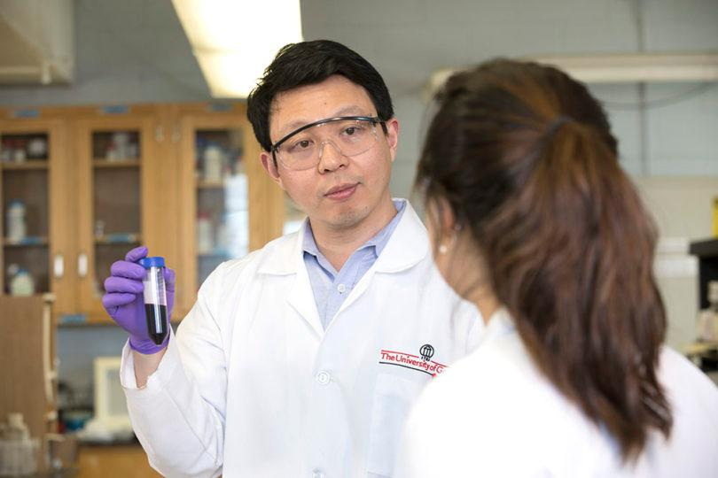 Jin Xie, associate professor of chemistry at the University of Georgia, has led the development of a promising new cancer treatment