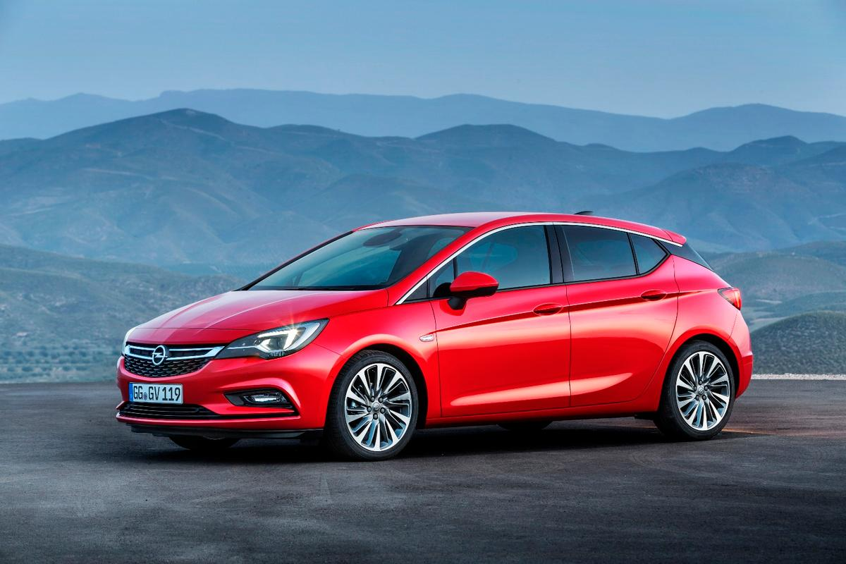 The new Astra is smaller and lighter than the car it replaces