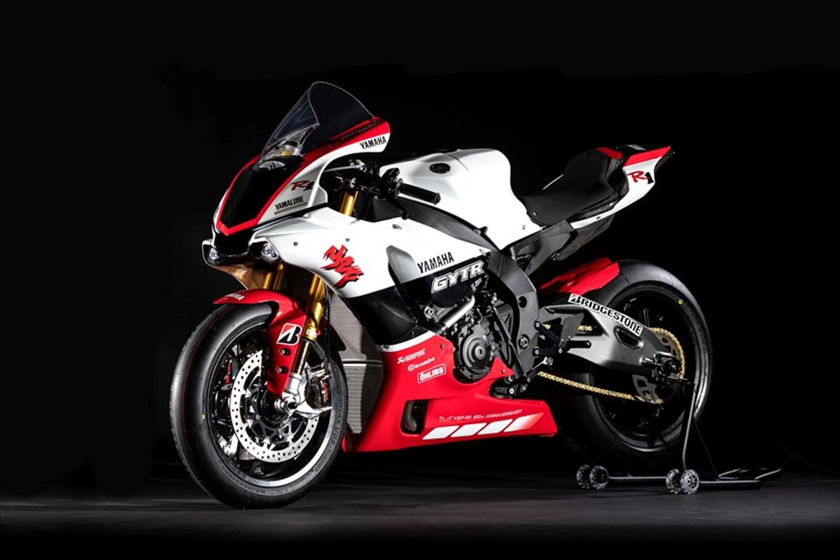 Yamaha celebrates 20 years of R1 lunacy with a truly special edition track bike
