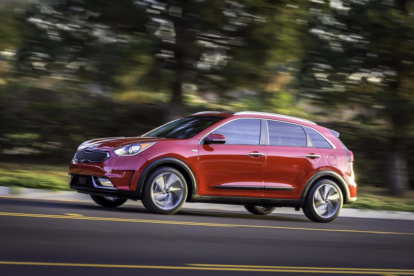 The Niro is based on an all-new eco-car platform the company plans to use as its electrified vehicle base going forward