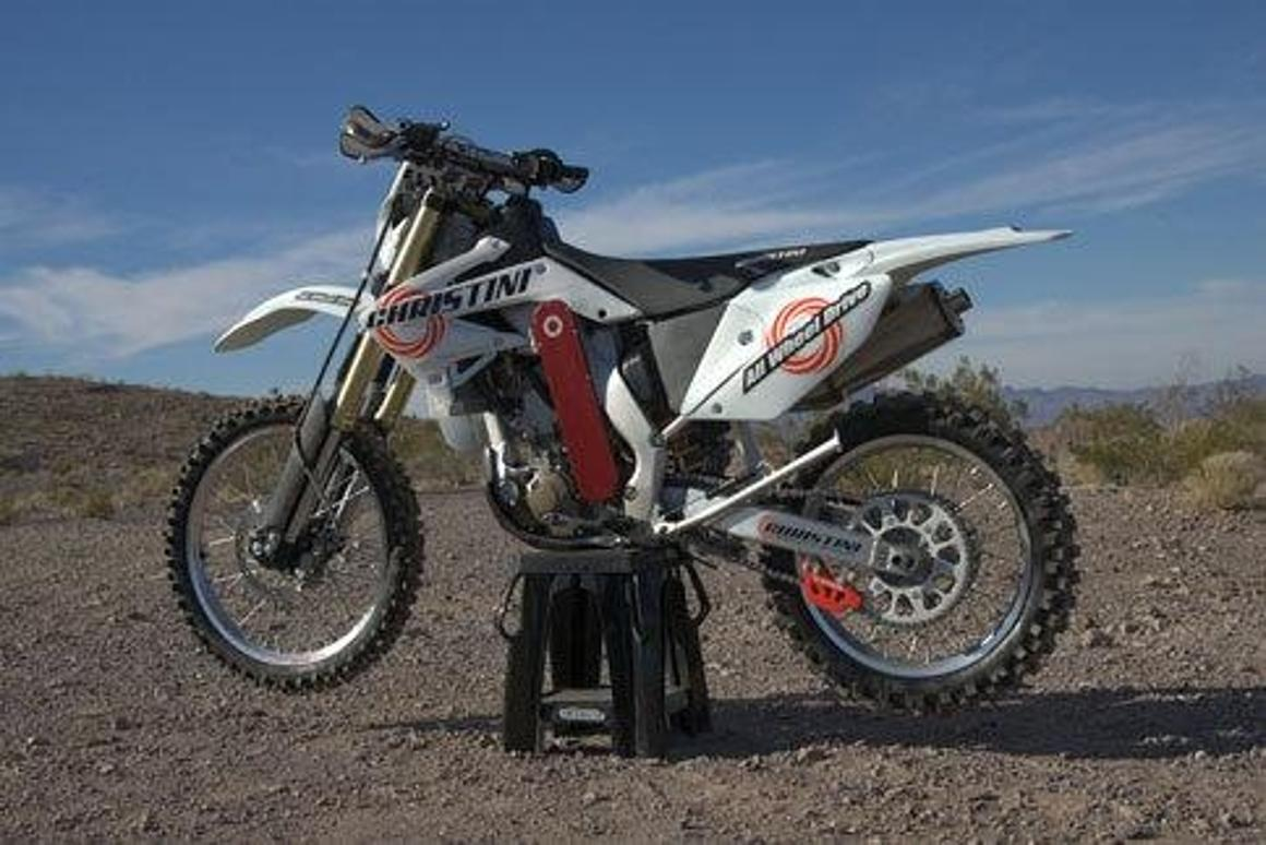 Christini's All-Wheel-Drive dirt bikes find huge traction