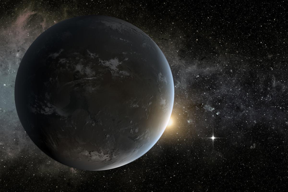 Artist's concept of Kepler-62f, an Earth-like planet (Image: NASA Ames/JPL-Caltech/Tim Pyle)