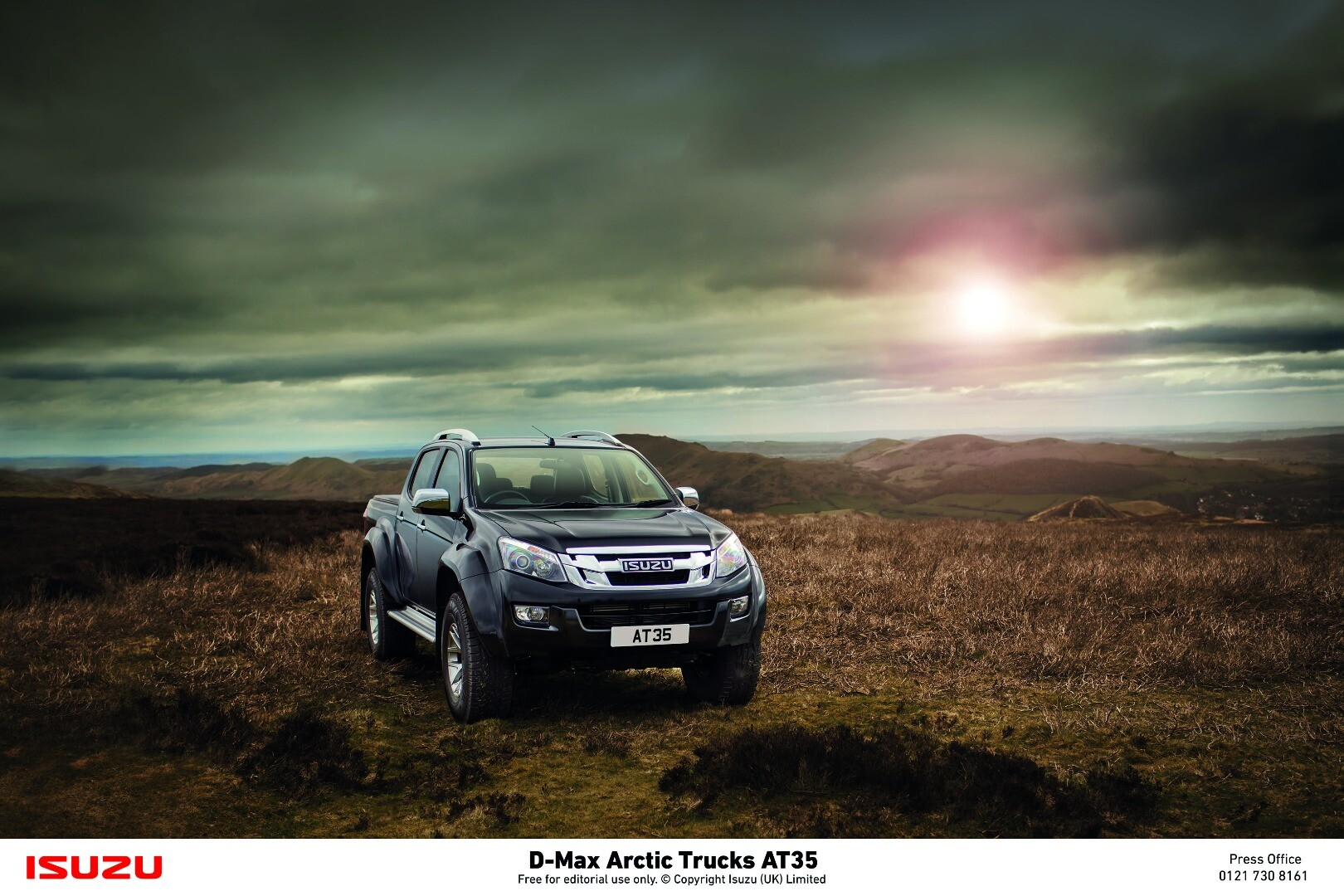"""Isuzu calls the new AT35 """"the most extreme D-Max ever sold"""""""