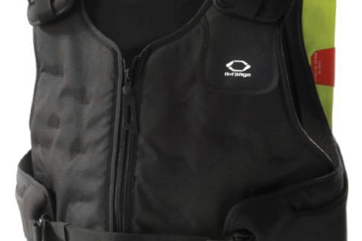A vest with extra storage in back