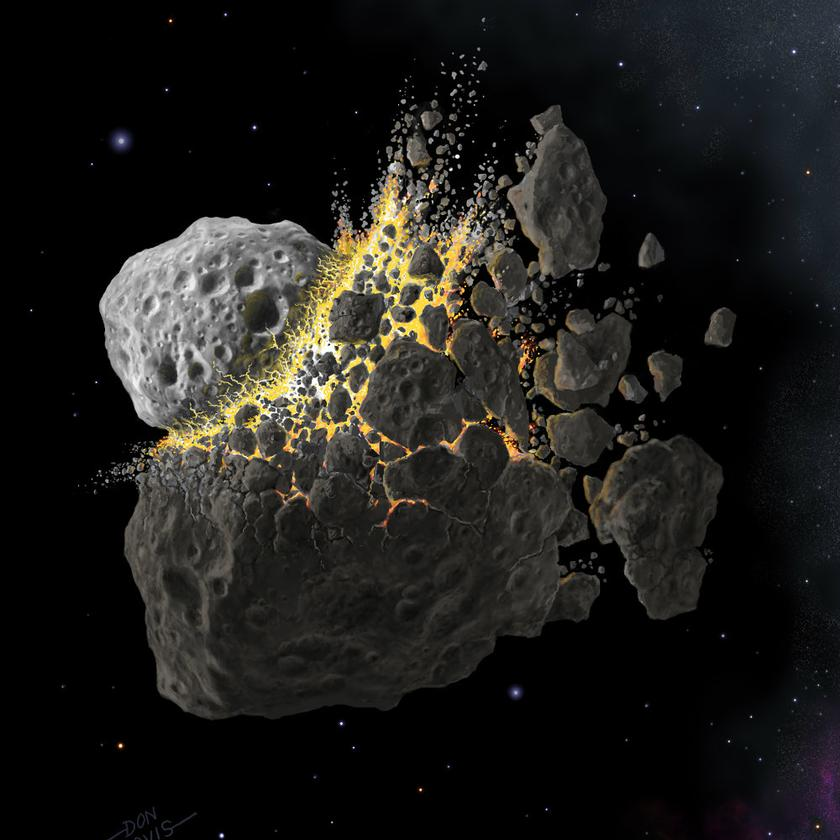 Researchers have found that 85 percent of asteroids in the inner belt could have come from just five or six ancient minor planets