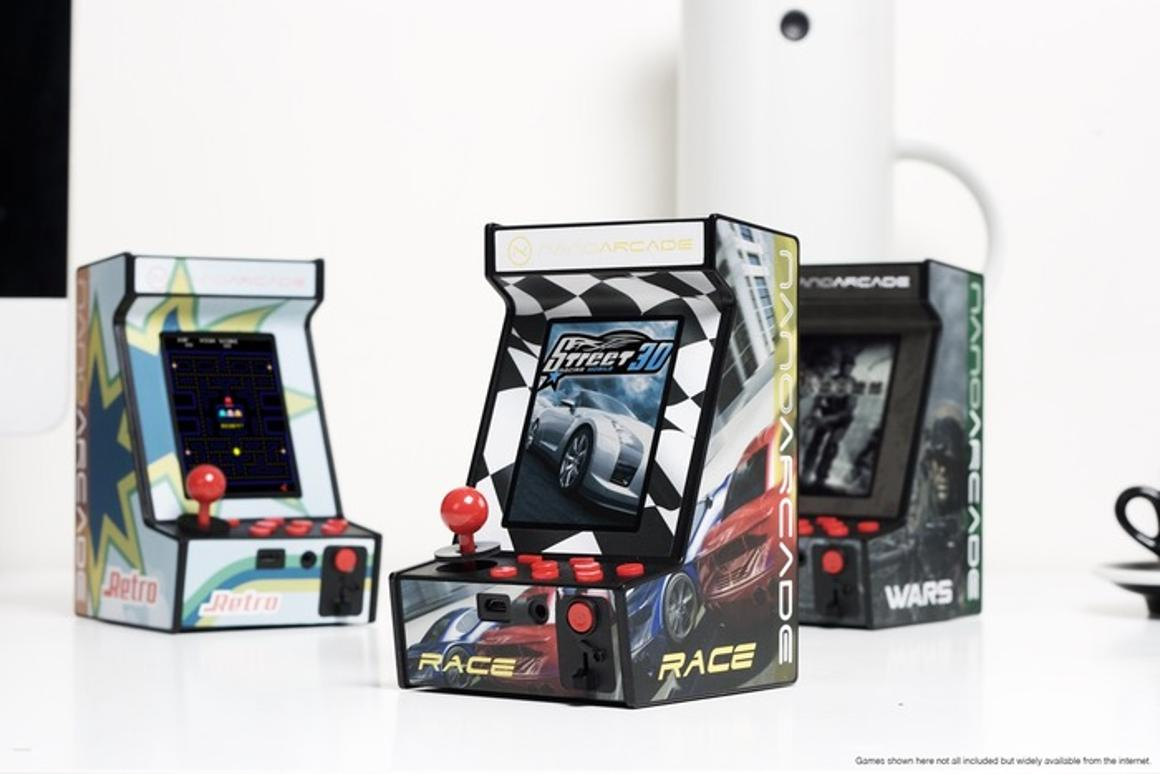 The Nanoarcade aims to bring the classic arcade feel to a small form factor