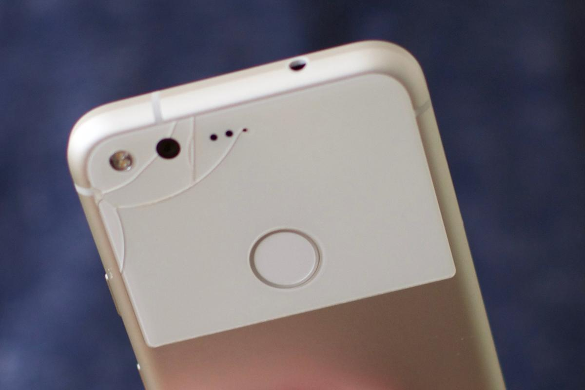 A broken back panel on the Google Pixel is easily covered up, but an edgeless display is even more vulnerable