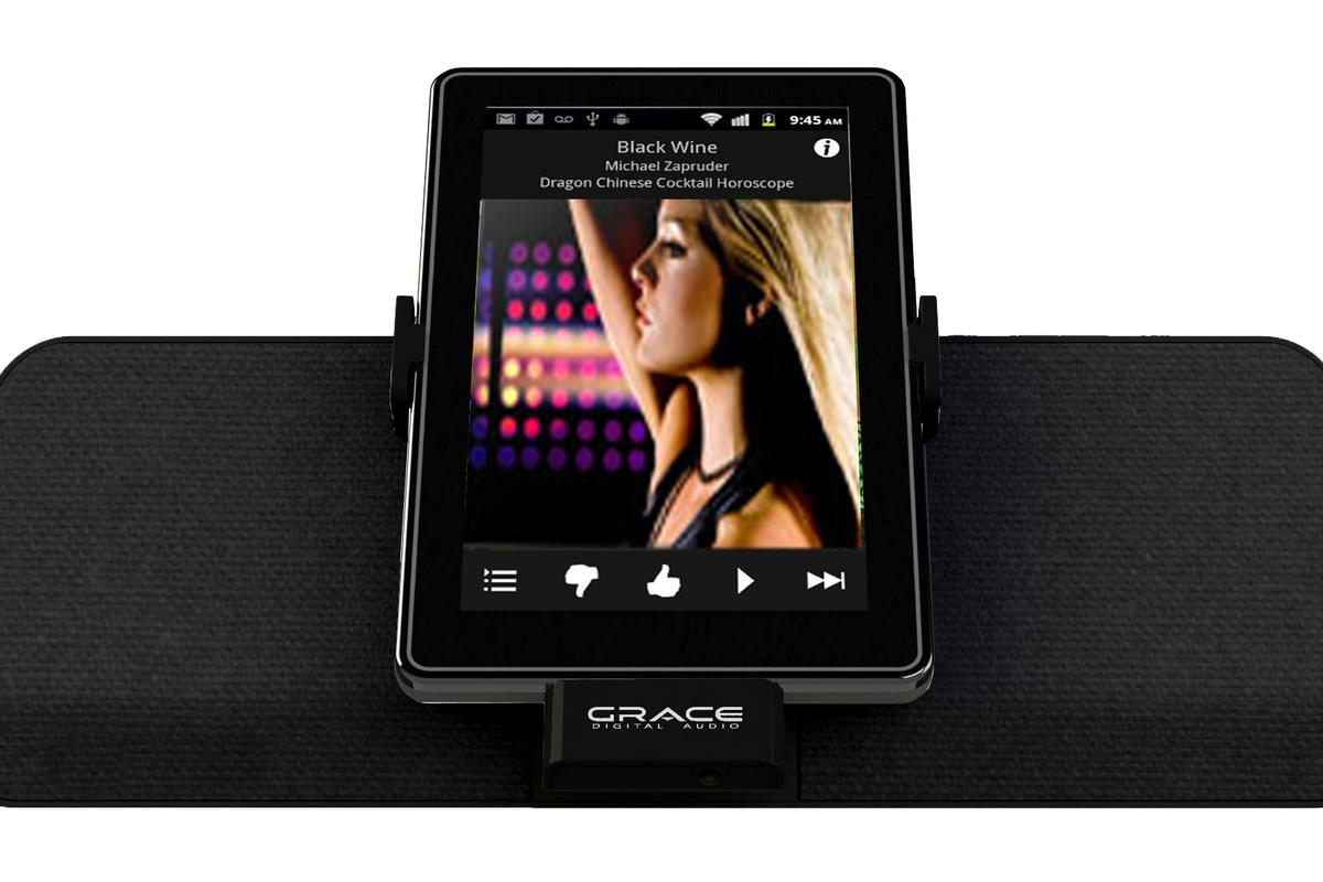 Grace Digital has announced the FireDock speaker dock specifically designed for Amazon's Kindle Fire tablet