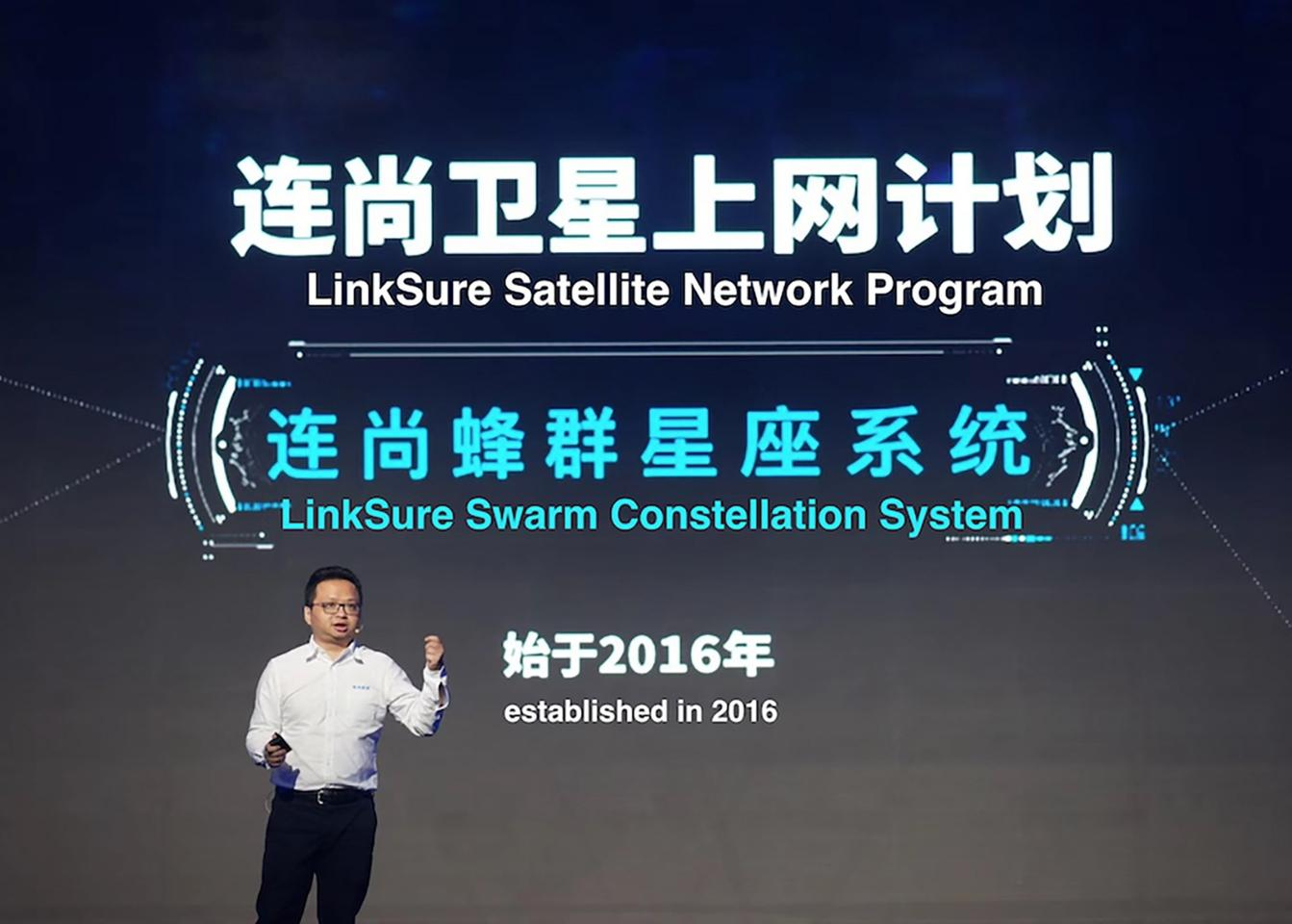 LinkSure is building a satellite network to provide global