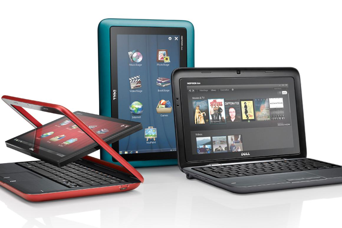 Dell's Inspiron Duo convertible tablet