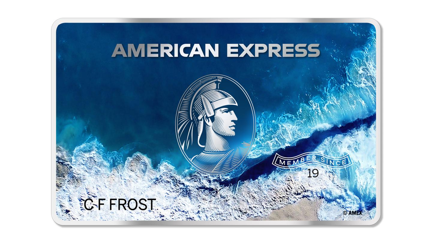 The American Express card made from upcycled marine plastic waste is expected to be available within the next 12 months