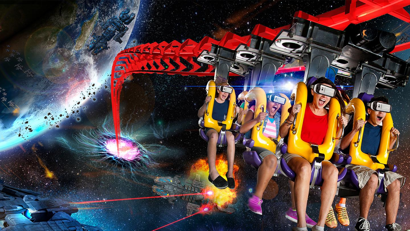 Samsung and Six Flags continue to collaborate on VR roller coaster experiences