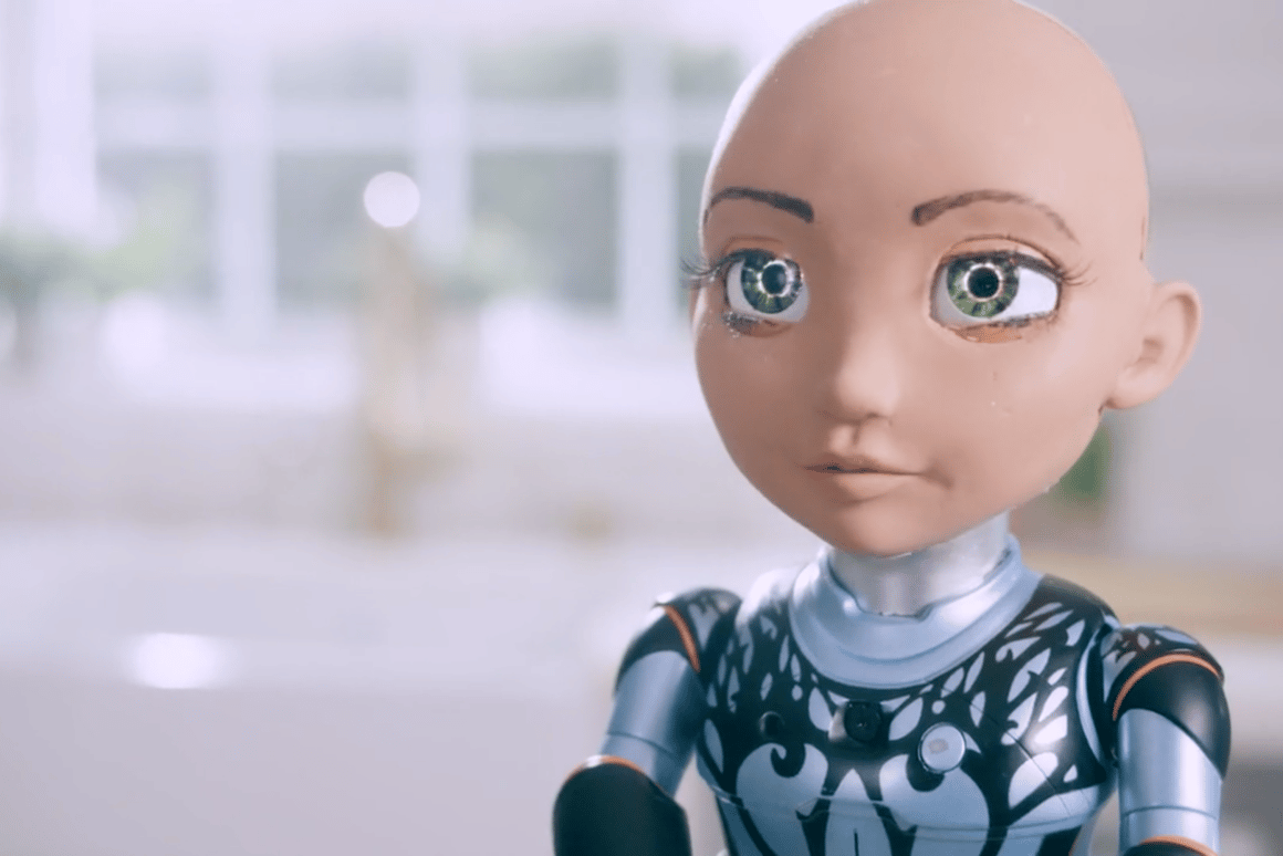 Little Sophia is a new toy robot based on Hanson Robotics' uncanny Sophia