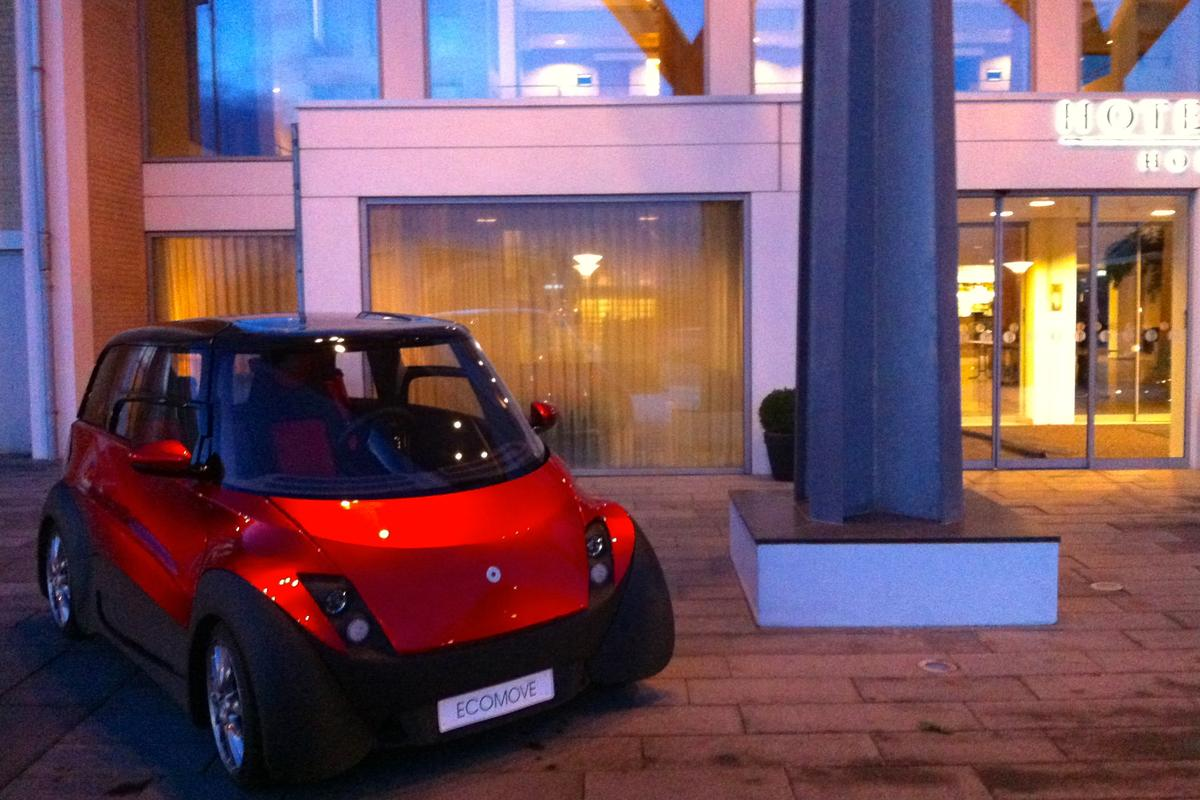 ECOmove has announced a delay in the production of its QBEAK electric car, which was scheduled for release this year