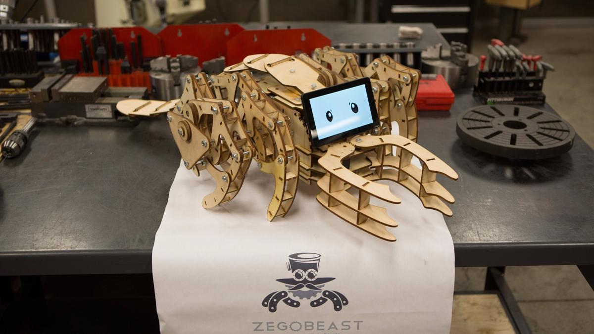 The ZeGoBeast Electric comes as a daunting-looking flat-pack bundle of wood and electronics that you have to put together yourself