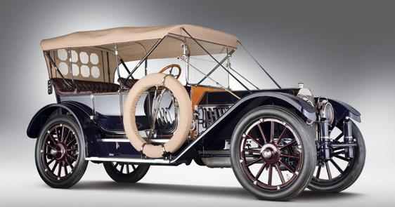 The 1912 Oldsmobile Limited Five-Passenger Touring that sold for USD$3,300,000