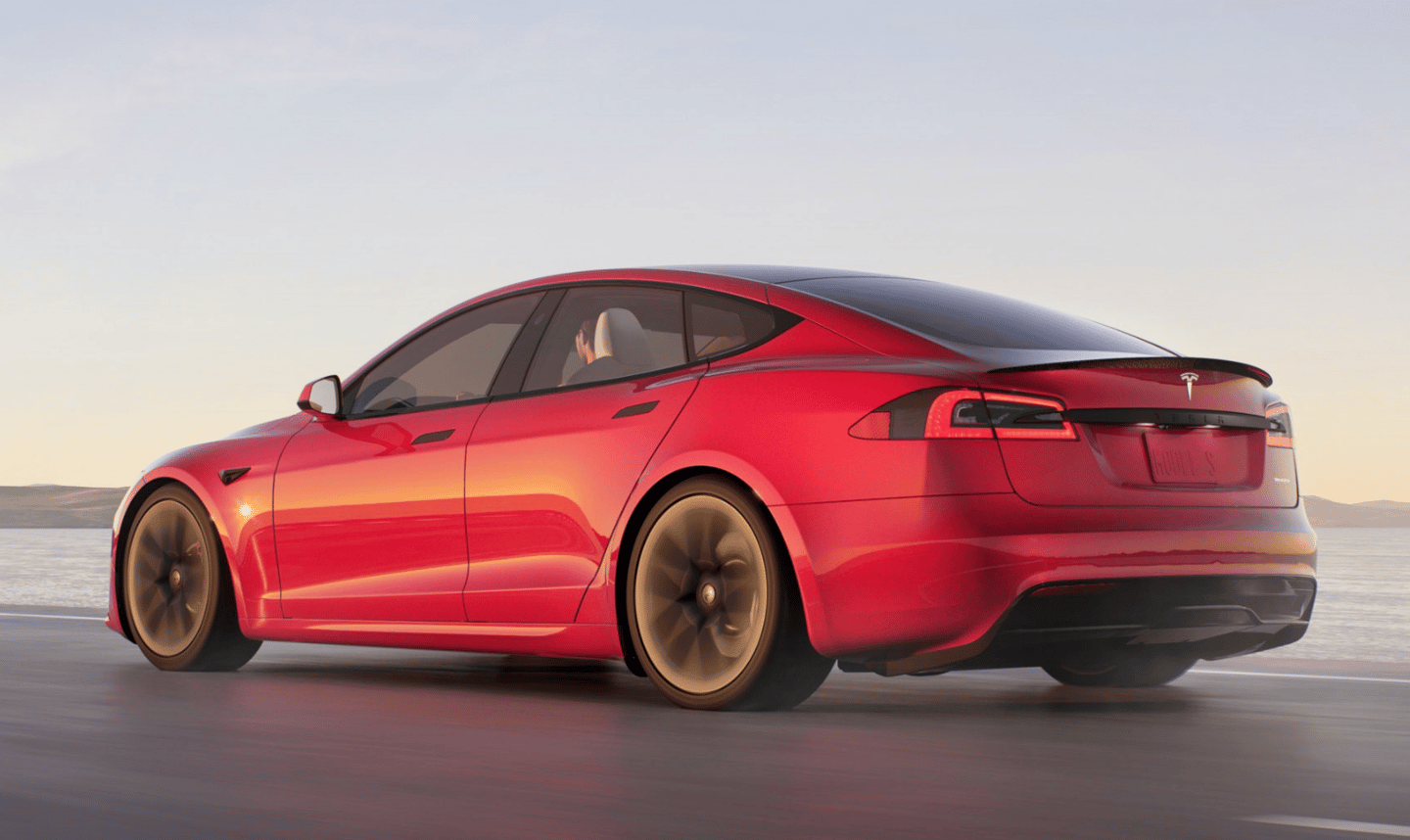The Model S Plaid+ offers more than 1,100 horsepower, 520 miles of range, sub-2 second 0-60 acceleration, sub-9 second quarter miles and 200 mph top speeds