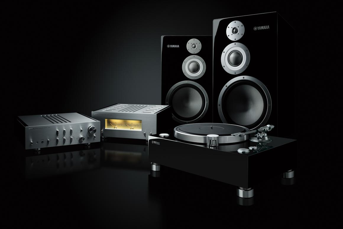 Yamaha is courting audiophiles with its high price, high fidelity 5000 series audio components