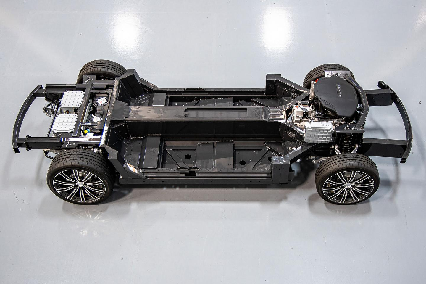 The E-Flex platform includes many motor, battery and hardware options