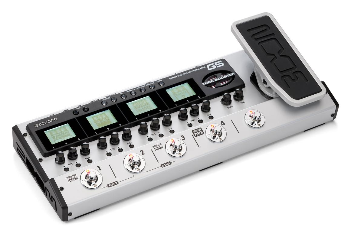 Zoom has announced a May 2012 release date for its new multi-effects unit, the G5