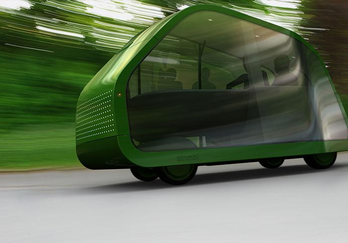 Each of the wheels on the Autonomobile will have its own electric hub motor