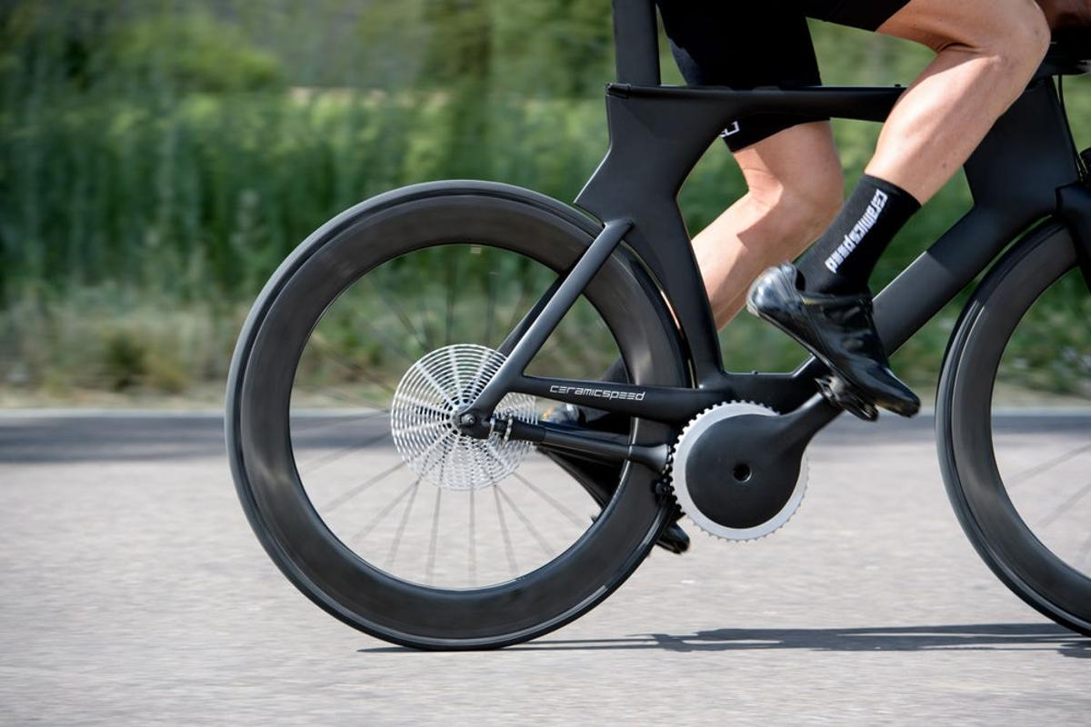CeramicSpeed's DrivEn pinion-style shaft-drive system turned a lot of heads this year