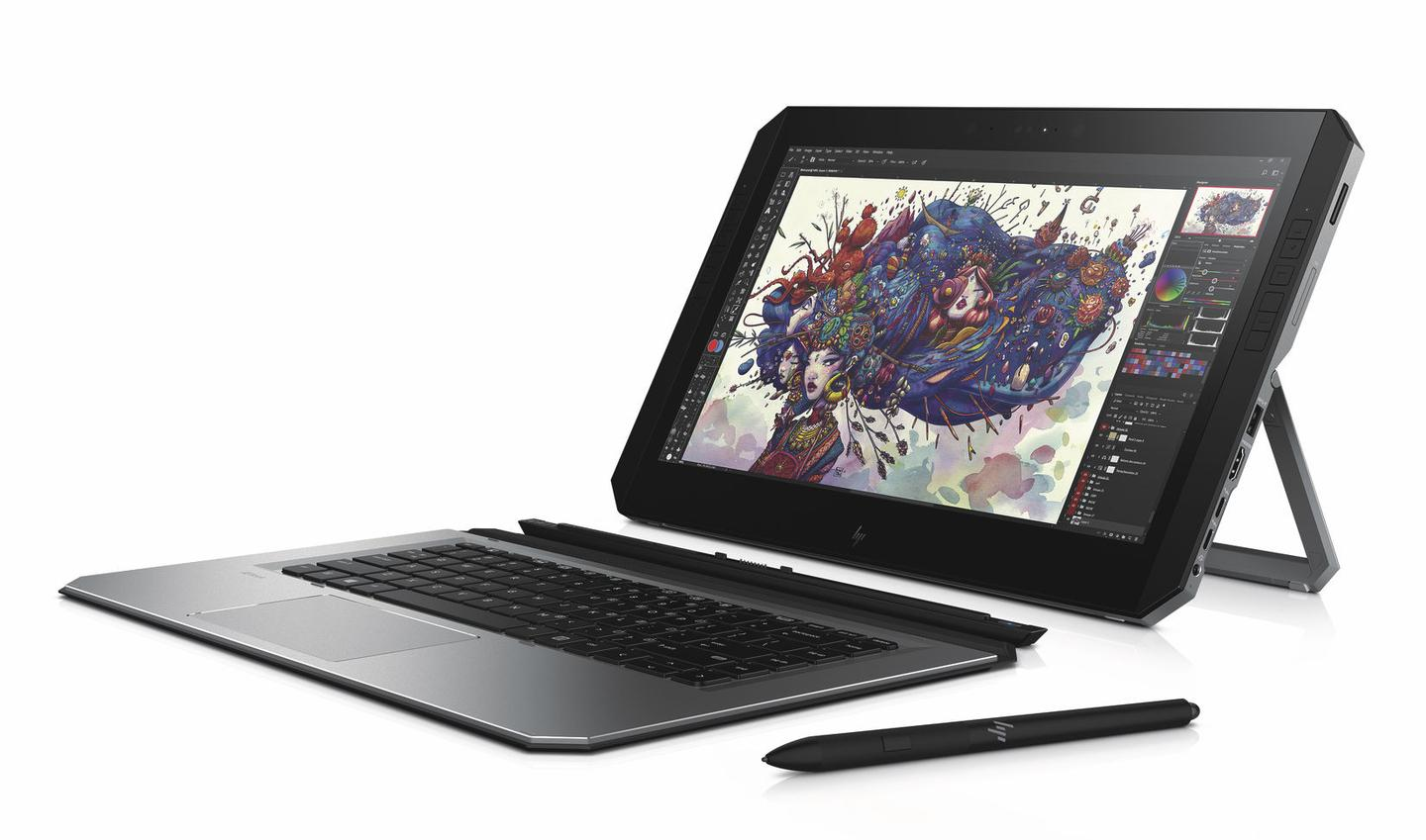 HPis calling theZBook x2the world's first detachable PC workstation
