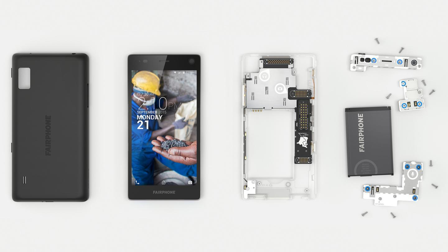 The device itself is designed in a modular manner, so it's easy for the user to take it apart and repair it themselves