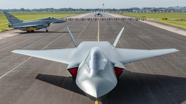 Numerous cutting-edge technological concepts are in development for the UK's Tempest fighter