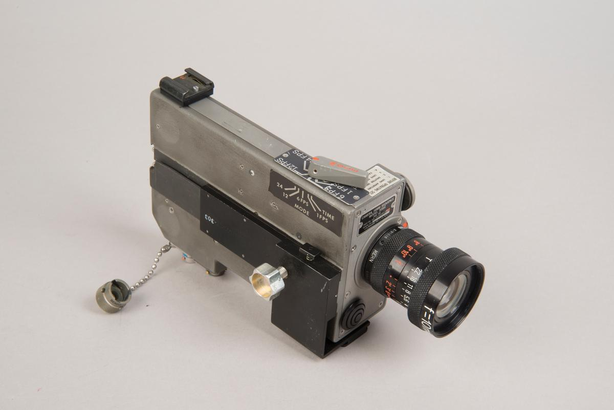 The Data Acquisition Camera was designed to capture footage of final approach, Neil Armstrong's descent from the LM, EVA, and ascent (Photo: National Air and Space Museum)