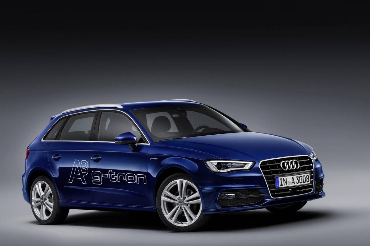 According to Audi, the A3 Sportback g-tron provides a total range equivalent to its turbo diesel alternative
