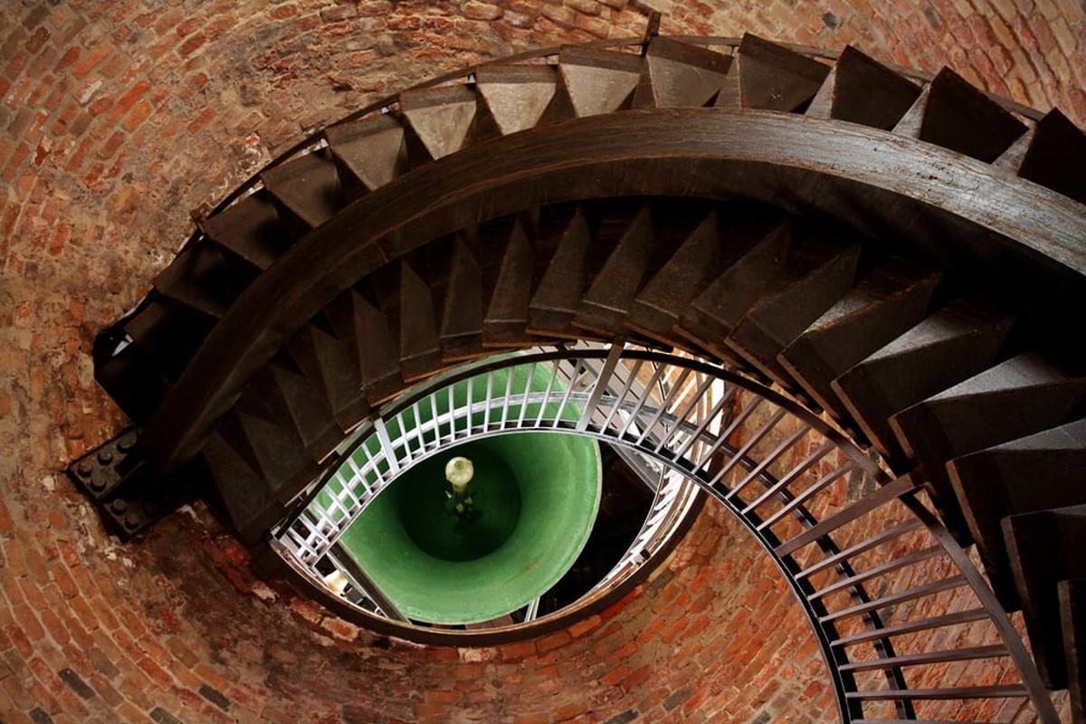 """Eye of the Tower was taken by Mehmet Yasa in Verona, Italy, with a Canon EOS 7D. """"The staircase and the bell looks like an eye,"""" says Yasa.""""Architecture can fascinate us in many ways."""""""