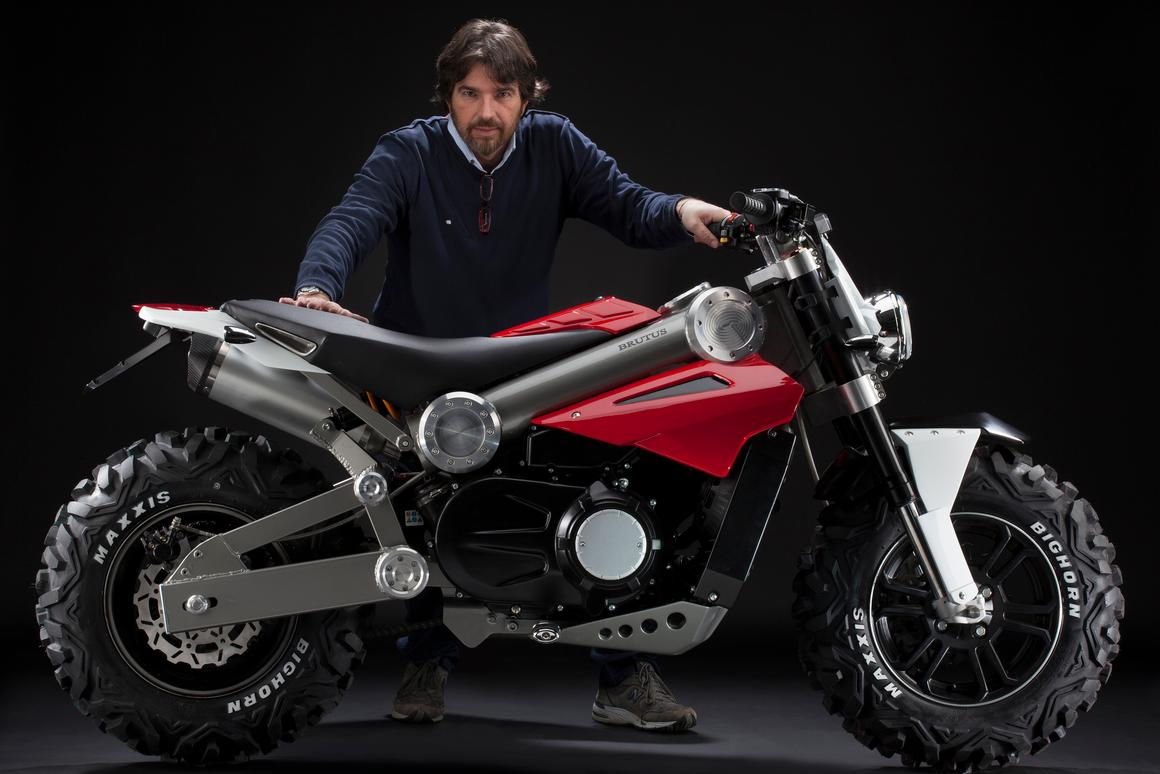 Alessandro Tartarini, son of Italjet founder Leopoldo Tartarini, has designed what is being touted as a new motorcycle concept