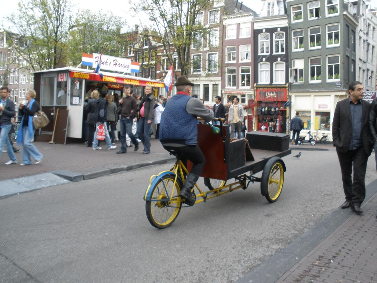 Amsterdam is a city designed around using the bicycle as the primary form of transport