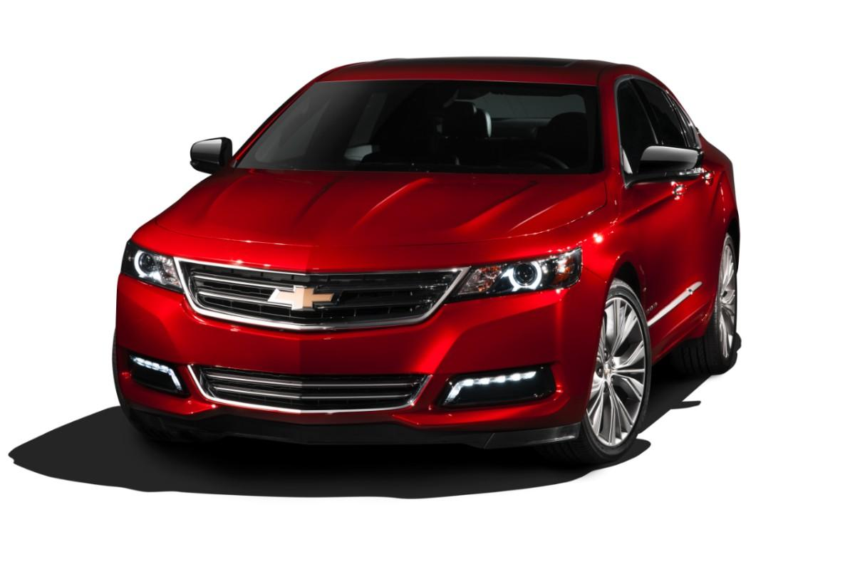 The redesigned 2014 Chevy Impala (Image: General Motors)
