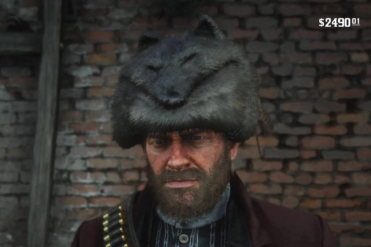 You can make a pretty stylish hat out of the Legendary Coyote pelt