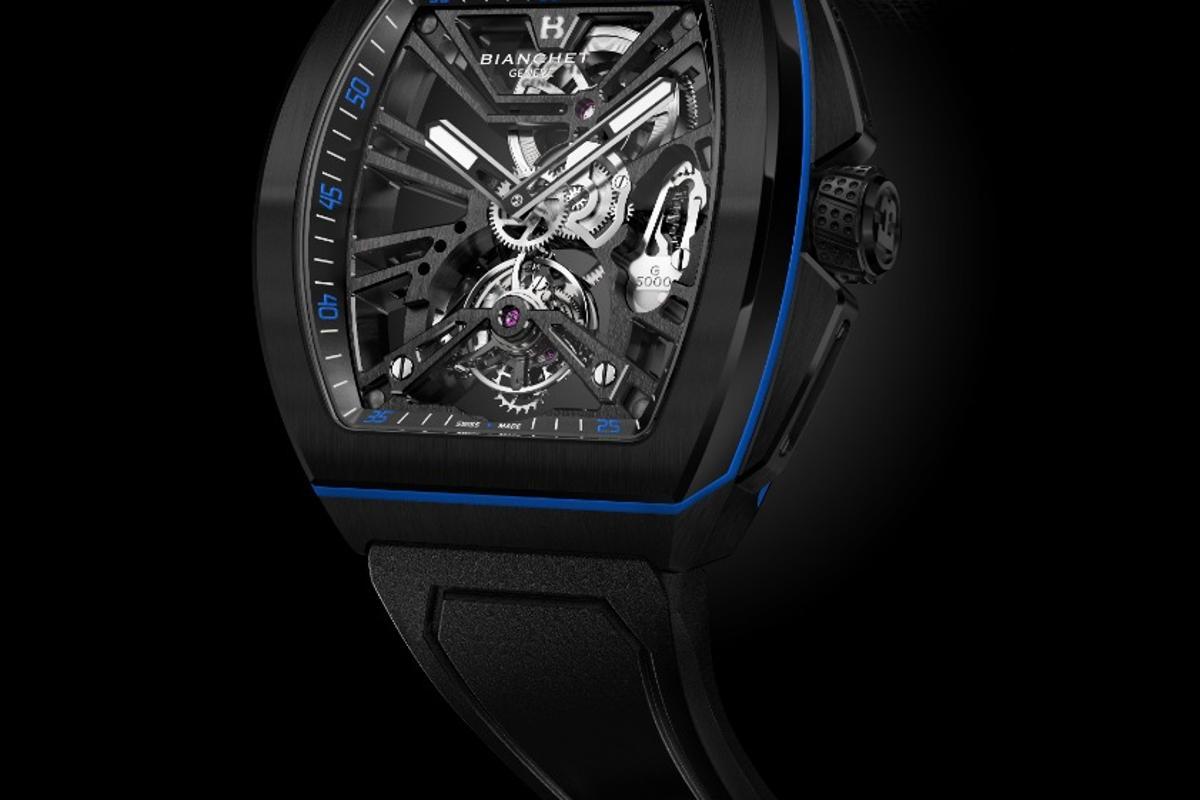 G5000 Active Tourbillon in blue