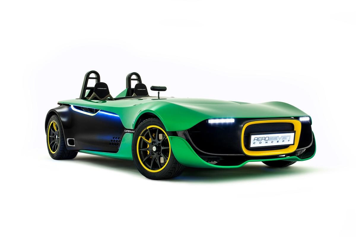 The Caterham AeroSeven Concept is the first Caterham with traction control